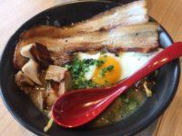 チャーシュー焼麺