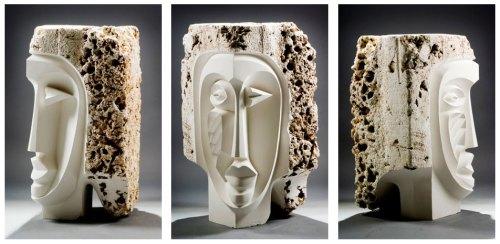 Stone-Bust-triptych_1