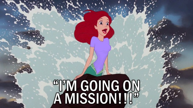 Ariel-Going-On-A-Mission