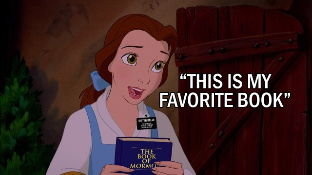 """Sister Belle loves The Book of Mormon: """"This is my favorite book"""" - Mormonbuzzz.com"""