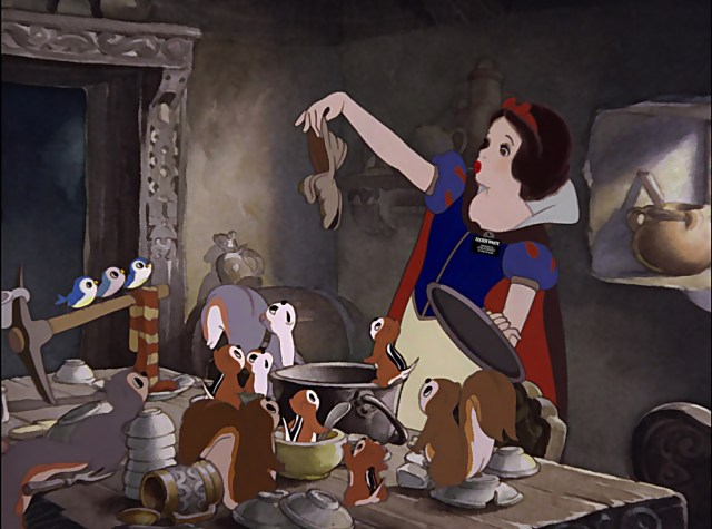 Snow-White-Cleaning