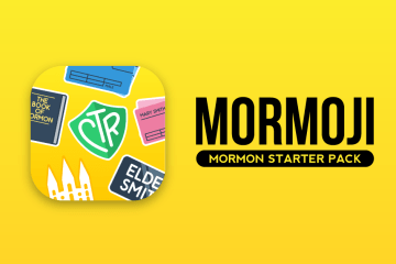 Send LDS Emoji to Your Friends With Our New App: Mormoji