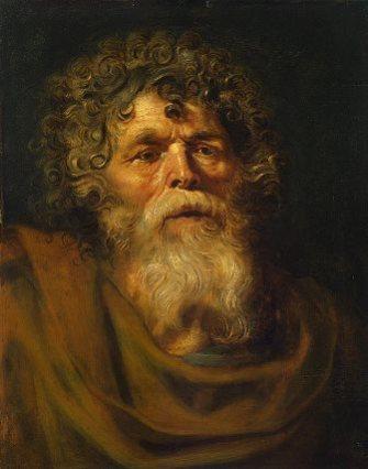11_Rubens_Studie van een oude man_M