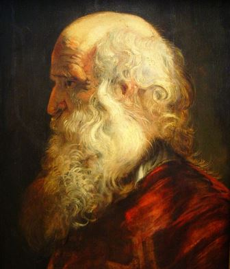 14_Rubens_Studie van een oude man_2_M