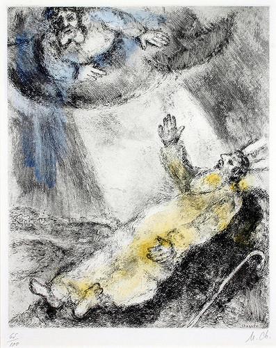 Chagall_Dood van Mozes