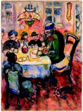 Chagall_Paasfeest Seder