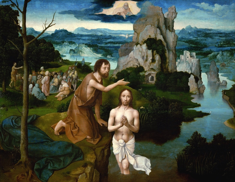 Joachim Patinier_Doop van Christus-xl
