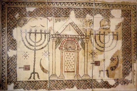 Mozaiek_Synagoog_Byzantium_5de Eeuw