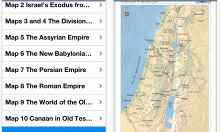 LDS Bible Maps On Your Smartphone or Tablet [App Review]