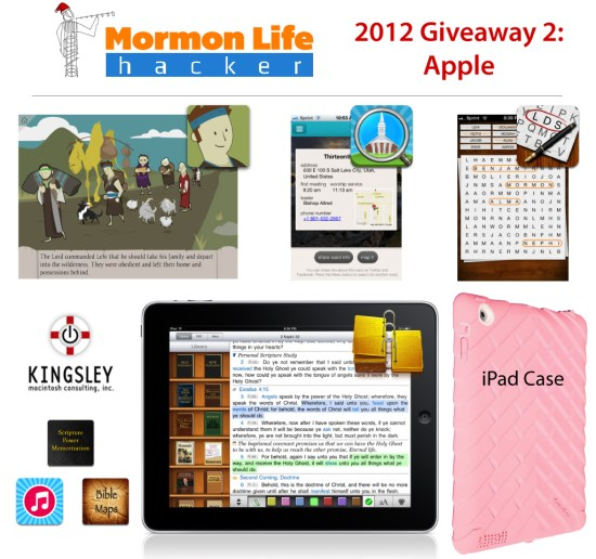 giveaway prizes lds ios apps and more