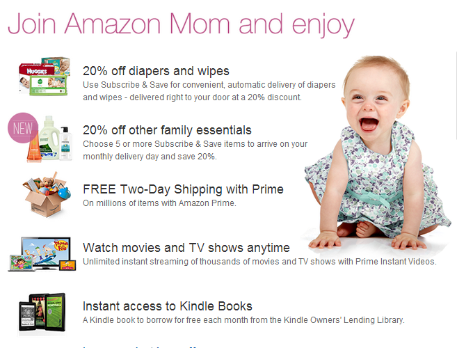 Use 'Amazon Mom' to Automate & Save on Diapers & Family Essentials