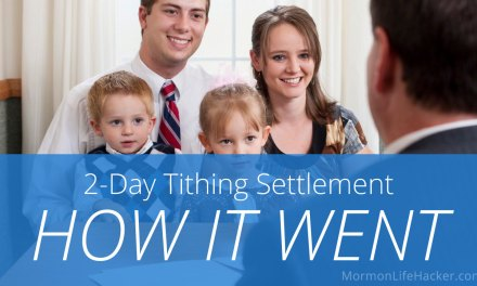 2-Day Tithing Settlement: How it Went