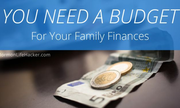 You Need A Budget for Your Family Finances