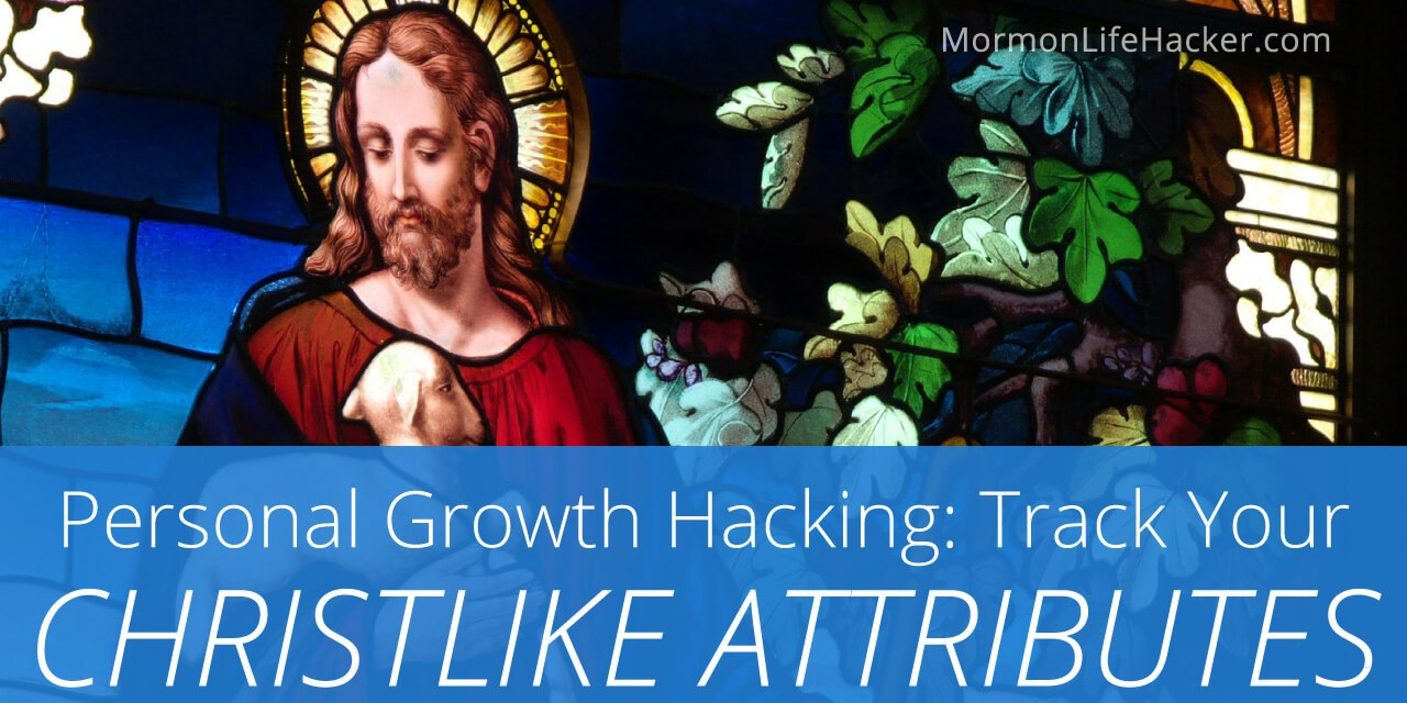 Personal Growth Hacking: Track Your Christlike Attributes