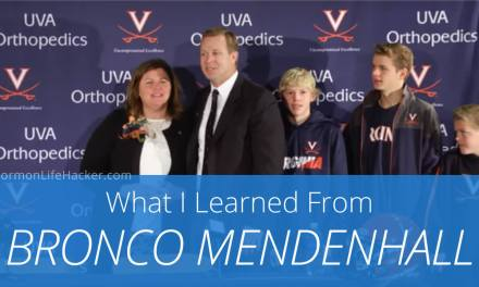 6 Life Principles I Learned from Bronco Mendenhall's VA Press Conference
