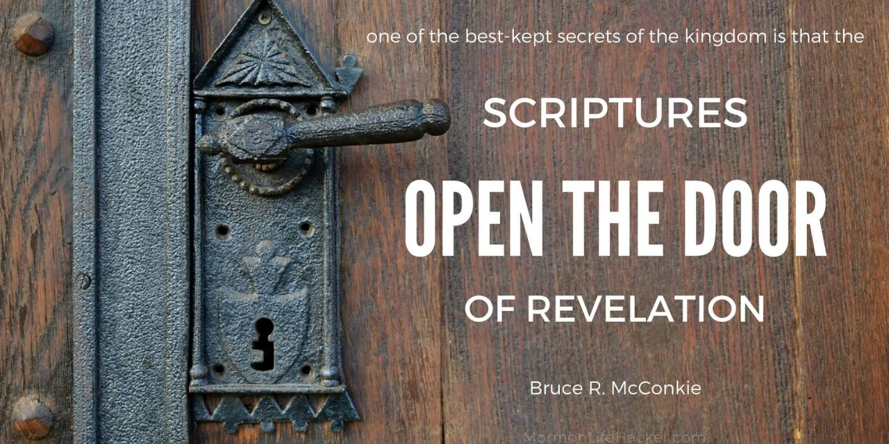 The Scripture Study Habit That Changed My Life – Part 2: the Doctrine