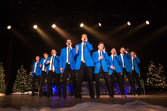 BYUtv CHRISTMAS SPECIAL WITH VOCAL POINT, PETER HOLLENS, MADILYN PAIGE, & RYAN INNES