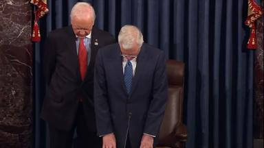 Elder D. Todd Christofferson offers the morning prayer in the United States Senate