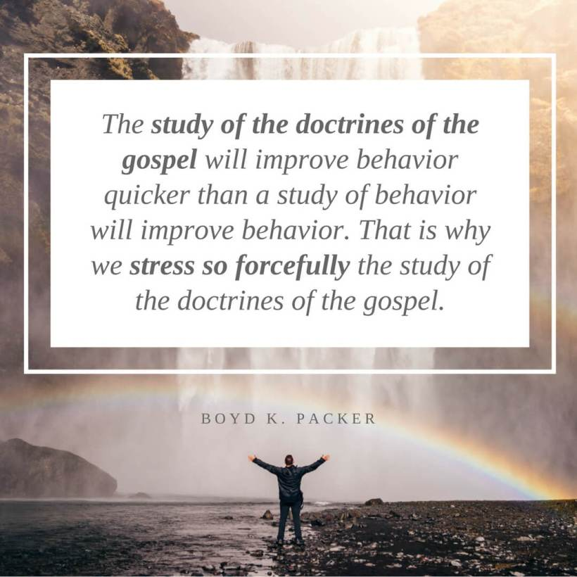 Study doctrines gospel boyd packer