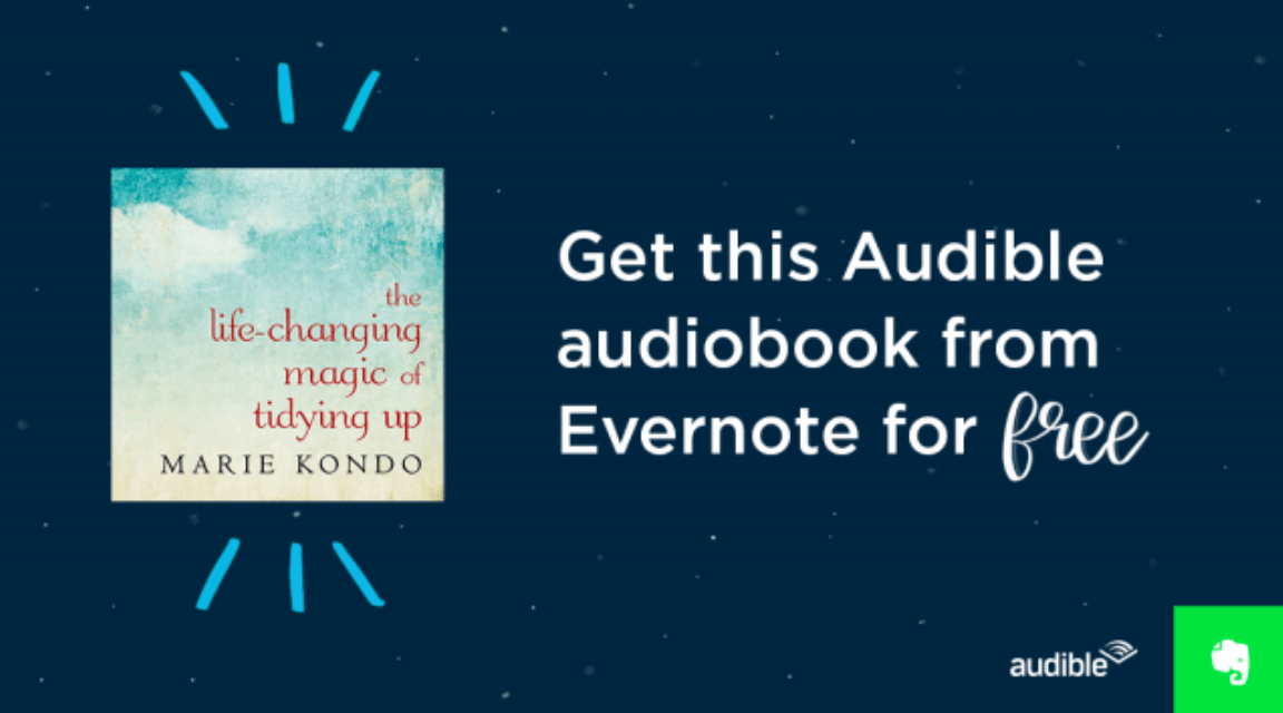 Simplify your life in 2017! Get The Life-Changing Magic of Tidying Up: The Japanese Art of Decluttering and Organizing by Marie Kondo audiobook for free!