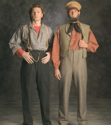 LDS Pioneer Trek Men Clothing