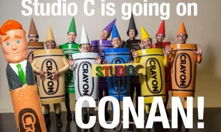 BREAKING NEWS: Studio C on Conan!
