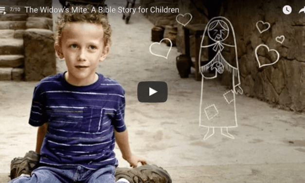 Latter-day Saint Children Tell the Story of the Widow's Mite from the Bible (too cute not to watch)!