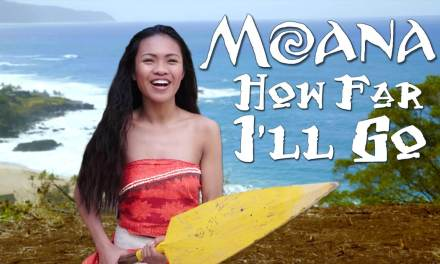 "Disney's Moana – How Far I'll Go – Official ""In Real Life"" music video from WORKING WITH LEMONS"