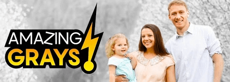 Jason Gray (from Studio C) is vlogging with his family! Get exclusive behind-the-scenes at his YouTube channel AMAZING GRAYS!