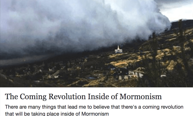 "MLH's ""best of"" Greg Trimble's ""The Coming Revolution Inside of Mormonism"""