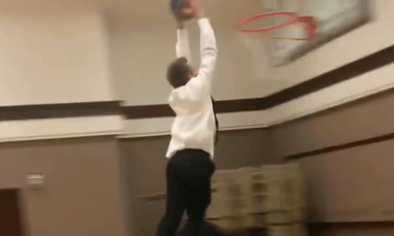 Yet one more reason why Church basketball should be discontinued . . .