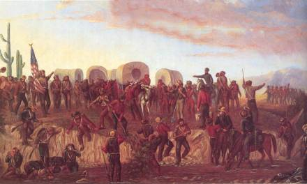 """Mormon Battalion """"DOCTOR DEATH"""" gets stoned: A new tombstone for the 1846 Mormon Battalion's army doctor is placed"""