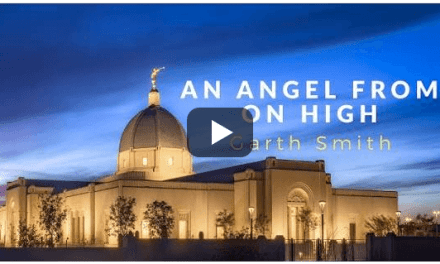 Garth Smith's latest video from an original arrangement—An Angel From On High