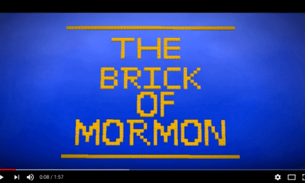 The Brick of Mormon: Legos, meet the LDS Church