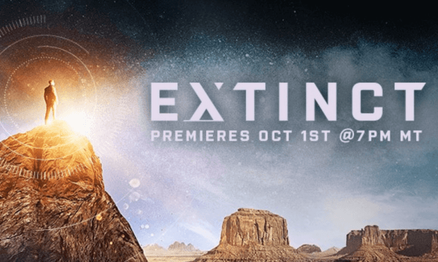 BYUtv's (and Orson Scott Card's) Extinct premieres on October 1! #ExtinctTV