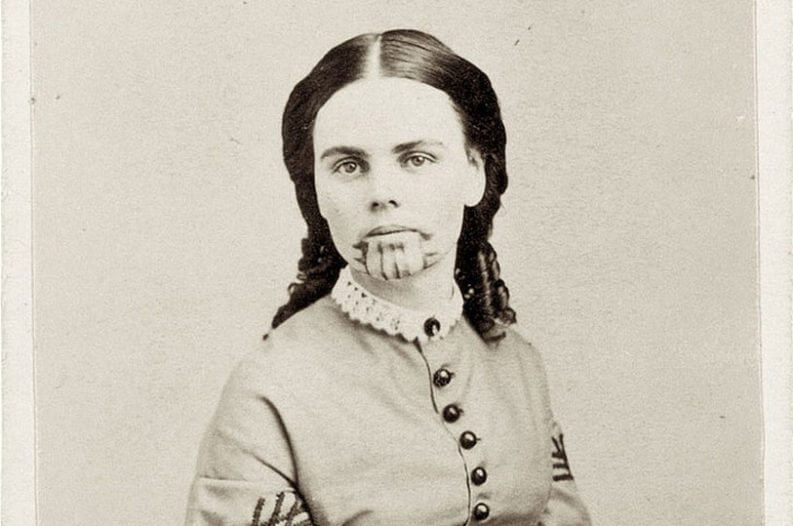 The original Tattooed Mormon: Olive Oatman, the pioneer girl abducted by Native Americans