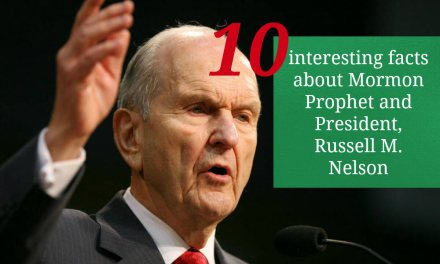 10 interesting facts about Latter-day Saint Prophet and President, Russell M. Nelson