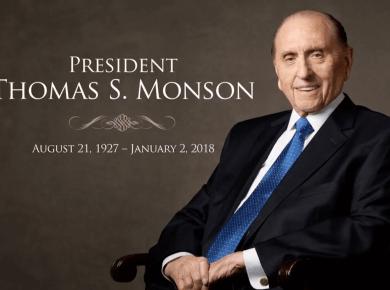 President Thomas S. Monson funeral image
