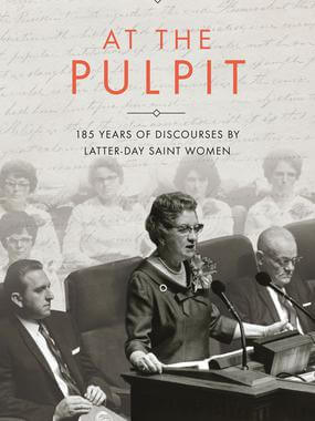 At the pulpit lds