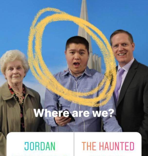 The best photo reaction to the Jordan River Temple Open House