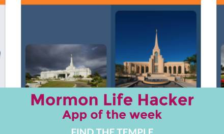 """Find the Temple"" app helps you identify all the Mormon temples (LDS iPHONE APP OF THE WEEK)"