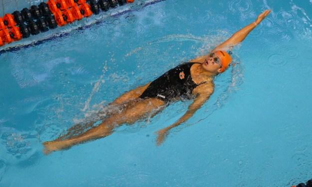 Auburn Swimmer and Mormon Athlete Zoe Thatcher was honored as Auburn University's Female Scholar Athlete of the Year