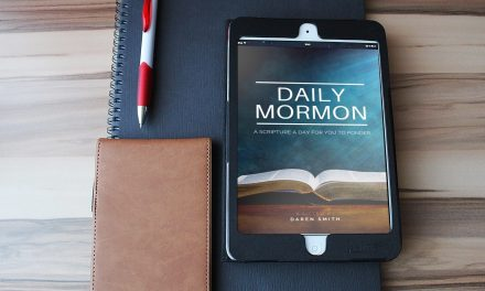 DAILY MORMON — get emailed a *FREE* BOOK OF MORMONS scripture every day with a ponder question. Now in print format!