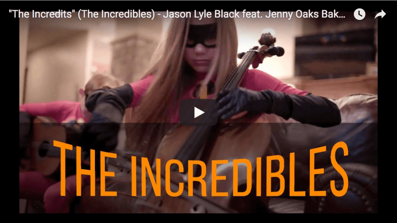 Incredibles 2 Black Baker Mormon LDS
