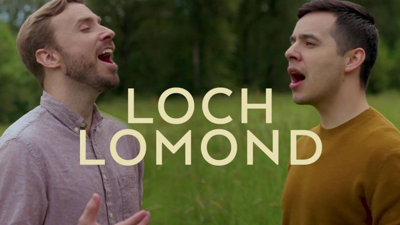 Peter Hollens David Archuleta Loch Lomond LDS Mormon