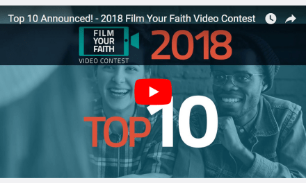 Film Your Faith video contest from FAITH COUNTS: Top 10 finalists announced!