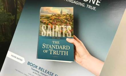 Facebook Live discussing chapters 2 and 3 of Saints: The Story of the Church of Jesus Christ in the Latter Days