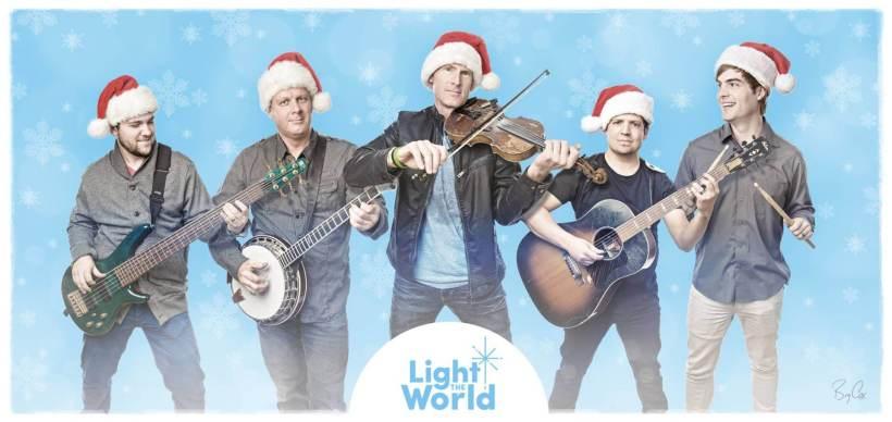 Ryan Shupe #LightTheWorld Christmas Free tickets