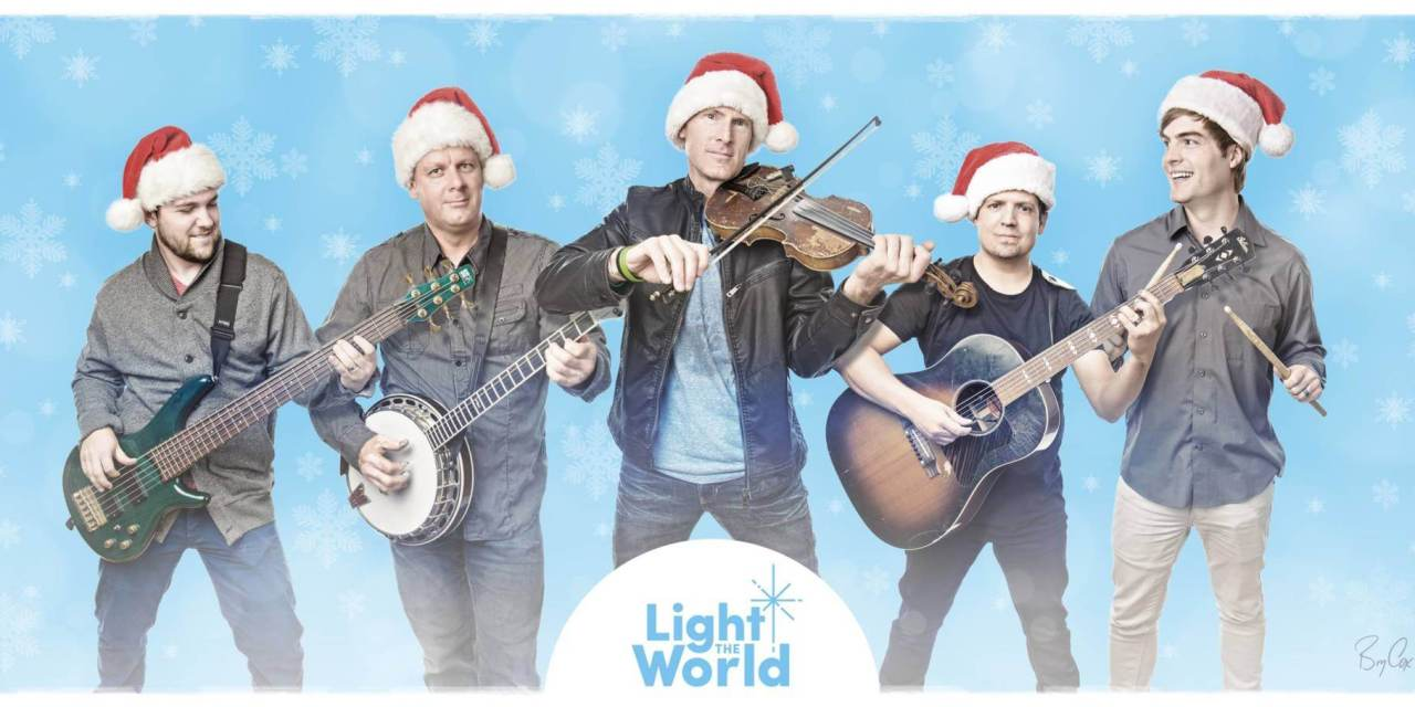 Ryan Shupe helps to #LightTheWorld by giving away free tickets to those who serve!