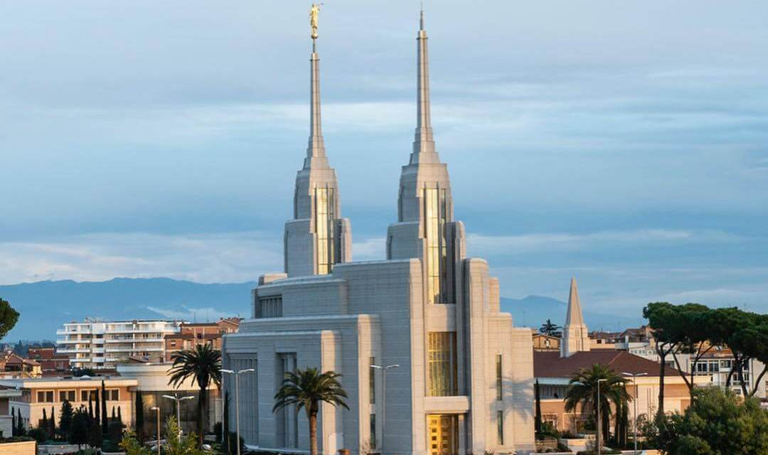 Some of the latest footage from the Rome Italy temple!!!